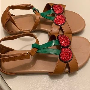 Size 11 Girl's Sandals